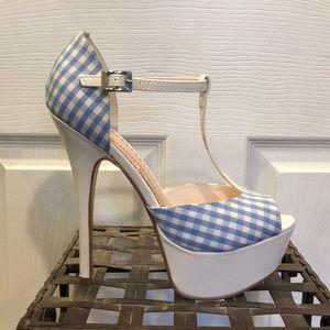 Adorable t-strap heels!